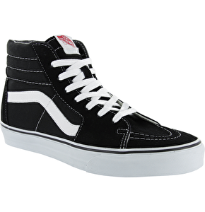 Vans Sk8-Hi Skate Shoes - Black/White
