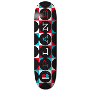 Plan B Team Modern Skateboard Deck - Black 8