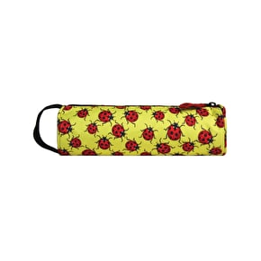 Mi-Pac Ladybirds Pencil Case - Yellow/Red