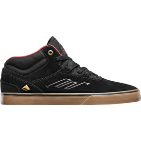 Emerica Westgate Mid Vulc Skate Shoes - Black/Gum