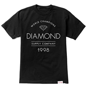 Diamond Craftsman T-Shirt - Black