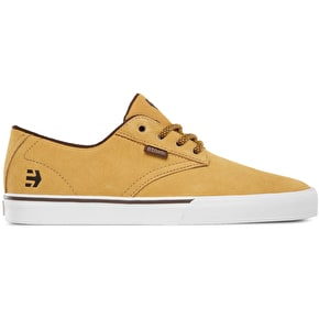 Etnies Jameson Vulc Shoes - Tan/Brown/White