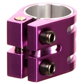 Slamm Vice Double Collar Clamp - Purple