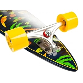 D-Street Tropical Pintail Complete Longboard 38