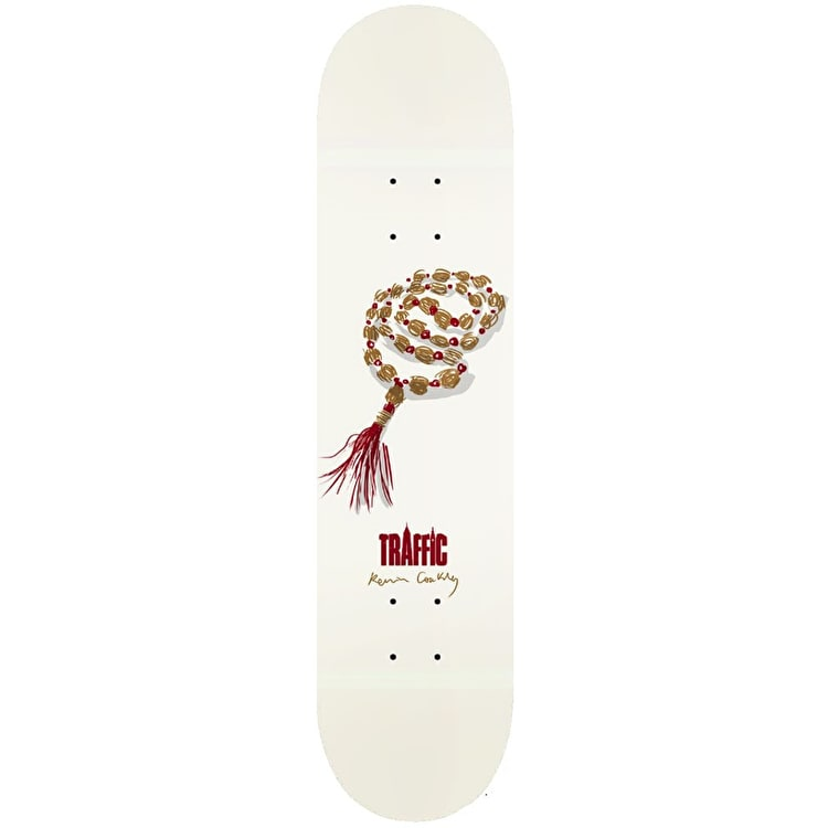 Traffic Hippy Mala Coakley Skateboard Deck 8""
