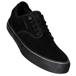 Emerica Wino G6 Skate Shoes - Black/Black