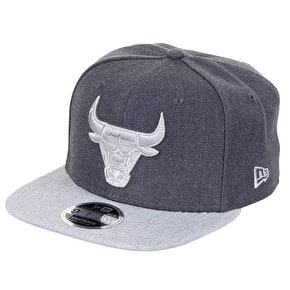 New Era 9FIFTY NBA Chicago Bulls Cap - Graphite/Grey
