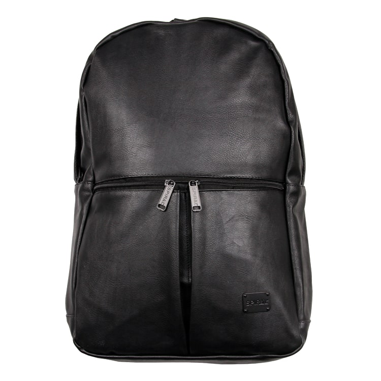 Spiral Hudson Backpack - Faux Leather