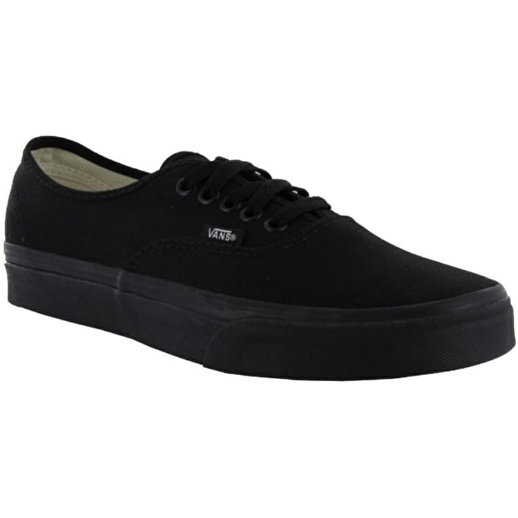 Vans Authentic Skate Shoes - Black/Black