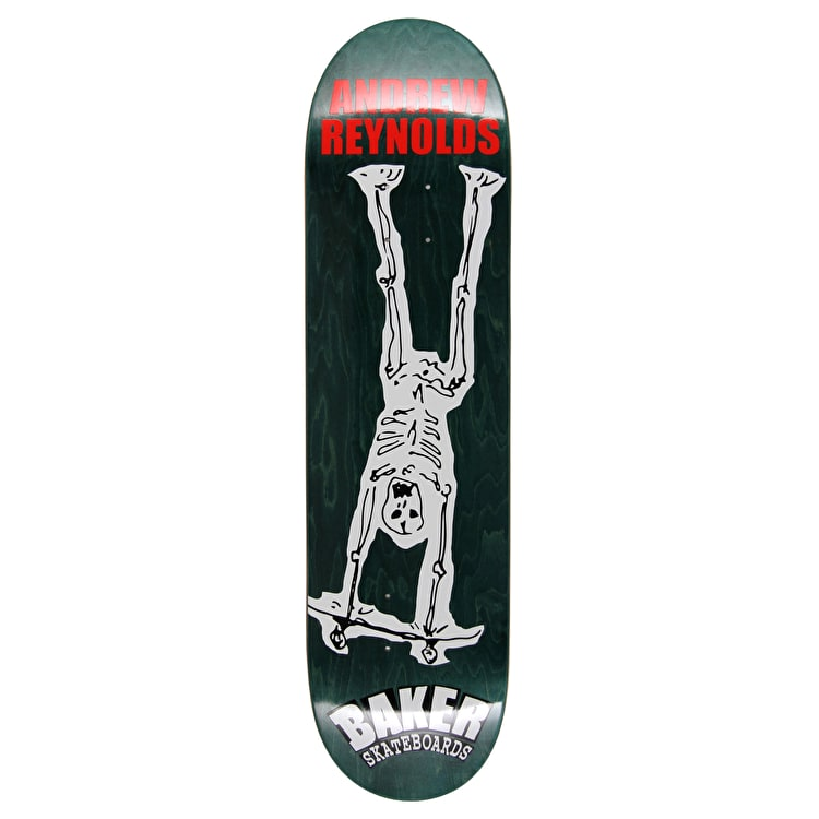 Baker From The Grave Reynolds OG Skateboard Deck - 8.25""
