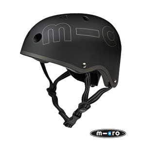 B-Stock Micro Safety Helmet - Black - Small (48-52cm) (Cosmetic Damage/No Box)