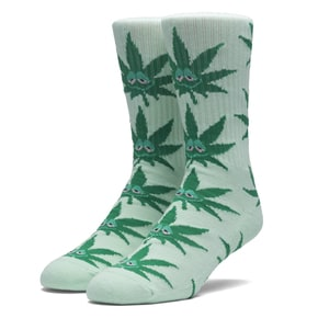 Huf Green Buddy Crew Socks - Mint