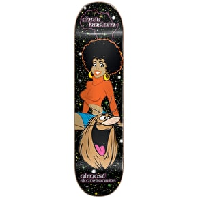 Almost Caveman Blacklight R7 Skateboard Deck - Haslam 8.375