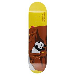 Enjoi Little Friend R7 Skateboard Deck - Brown 8