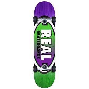 Real Oval Two Fades Complete Skateboard - 7.75