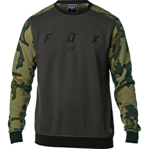 Fox District Crew Fleece - Black Vintage