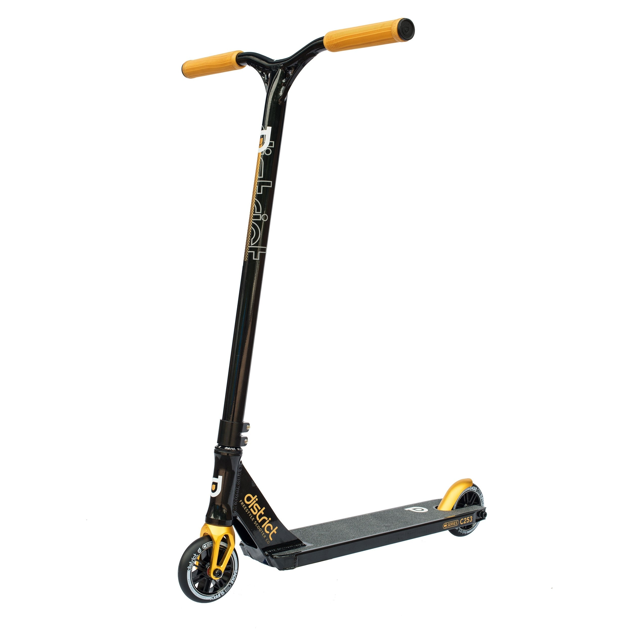 Image of District 2017 C-Series C253 Complete Scooter - Black/Gold