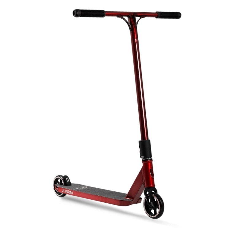 UrbanArtt Primo V2 Complete Scooter - Red/Black