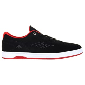 Emerica Westgate CC Skate Shoes - Black/Red