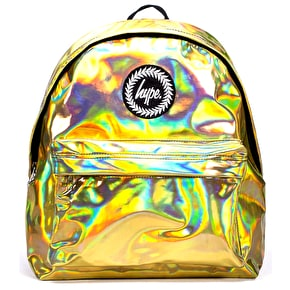Hype Holographic Backpack - Gold