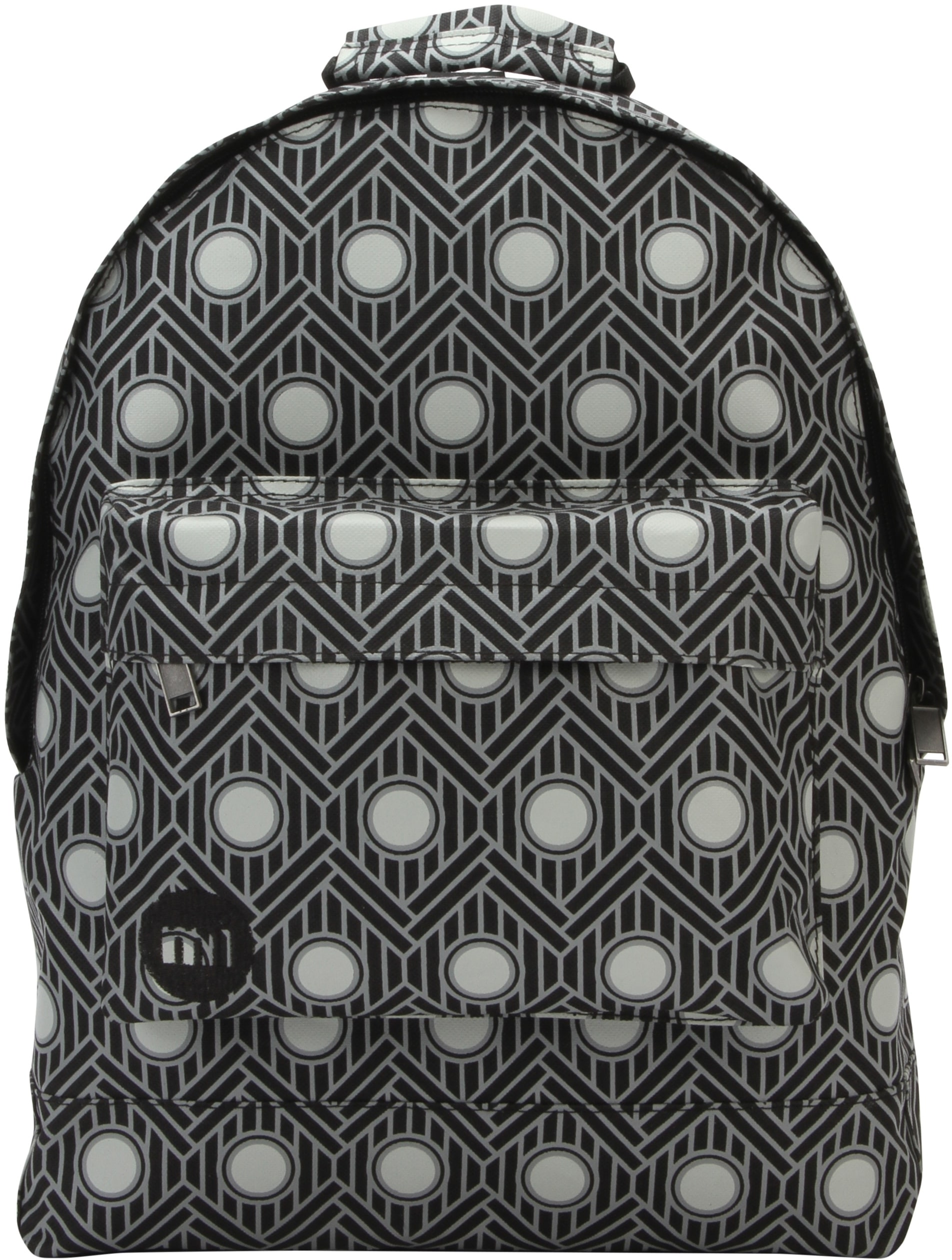 MiPac Chevron Backpack  Polka Black
