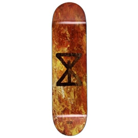 Sour Sourglass Rust Skateboard Deck 8.25