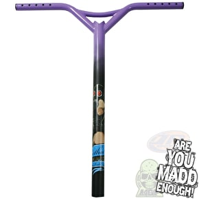 MGP Lethal Oversized Scooter Bars Bat Wings - Purple