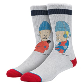 Stance Snot Sickle Socks - Grey