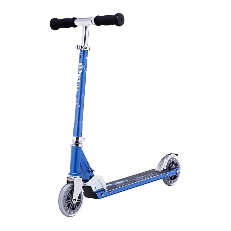 JD Bug Classic Street 120 Folding Scooter - Reflex Blue