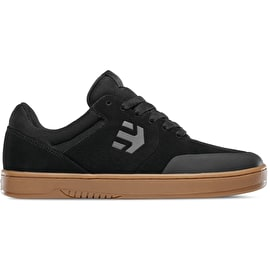 Etnies Marana Skate Shoes - Black/Dark Grey/Gum