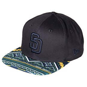 New Era 9FIFY San Diego Padres West Coast Cap - Black