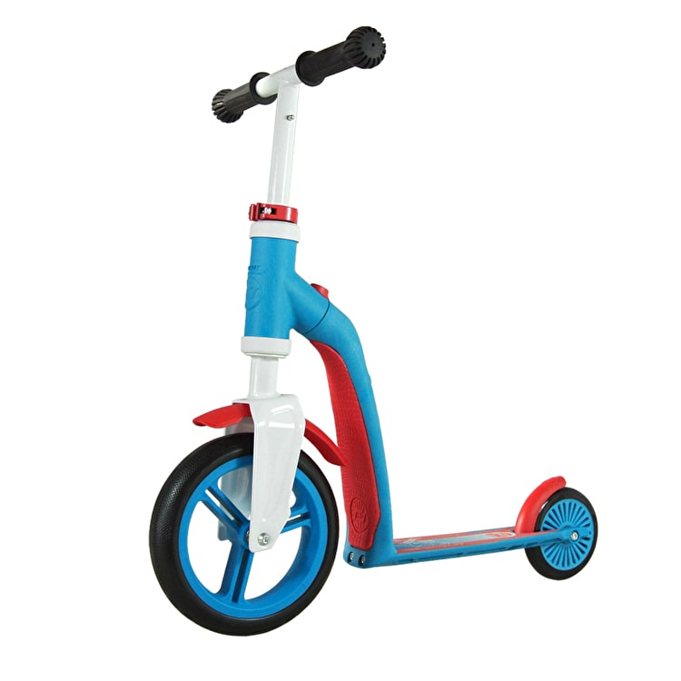 Scoot And Ride Highwaybaby 2in1 Toddler Complete Scooter - Blue/Red