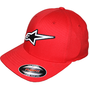 Alpinestars Corporate Flexfit Cap - Red