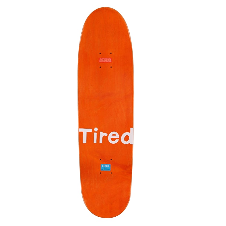 Tired Number Three Skateboard Deck - 8.75""