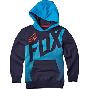 Fox Youth Captive Pullover Fleece - Indigo
