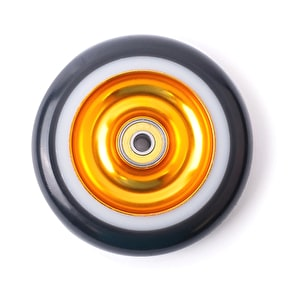 Eagle Limited Full Core 110mm 2-Layer Scooter Wheel - Gold/White/Black