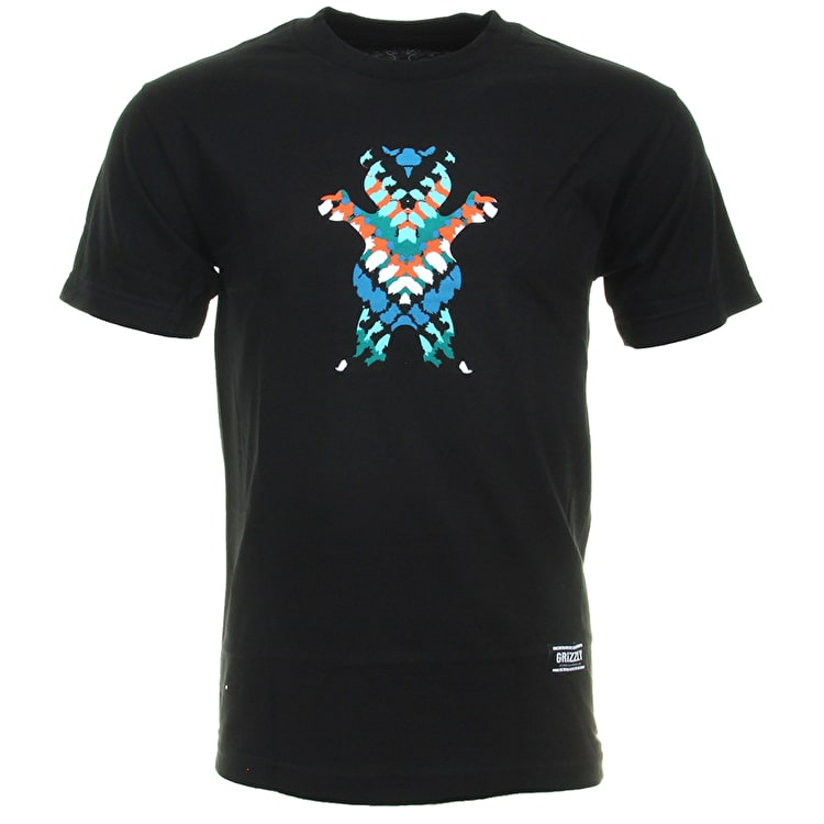 Grizzly Tribe OG Bear T-Shirt - Black