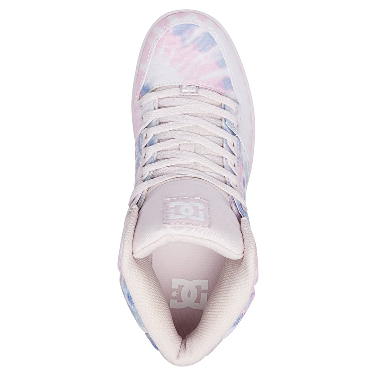 DC Pure HT WC TXSE Skate Shoes - Blue/Pink