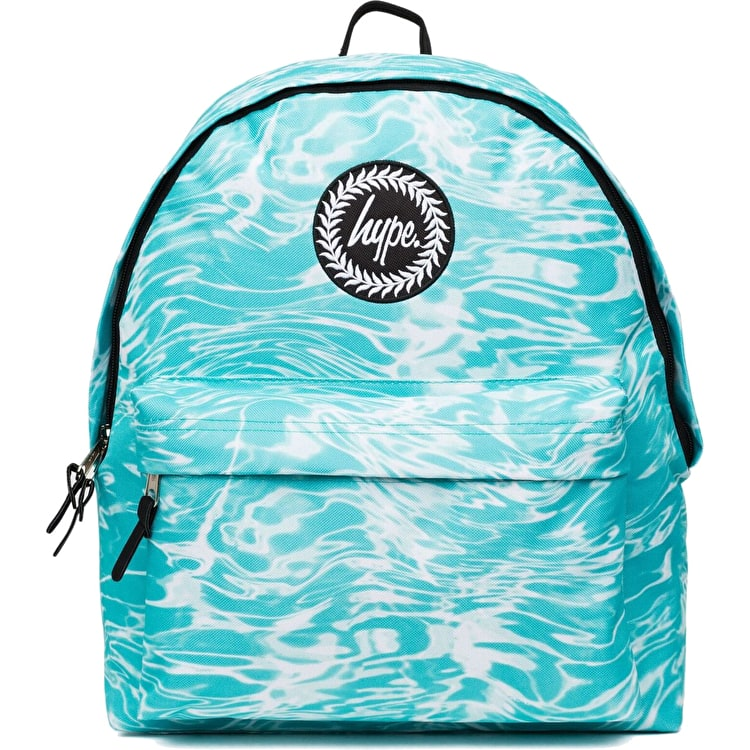 Hype Liquid Marble Backpack - Aqua