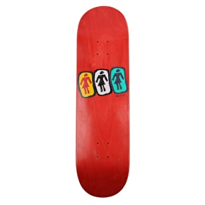 Girl W33 Skateboard Deck - Andrew Brophy - 8.5