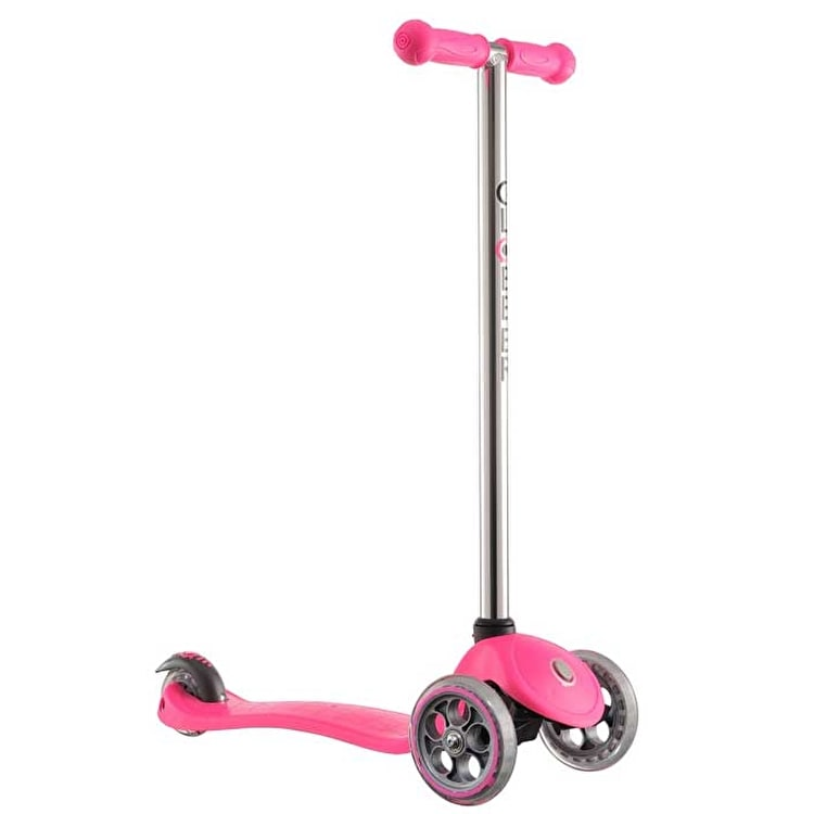 Globber Fix Junior Scooter - Pink/Grey