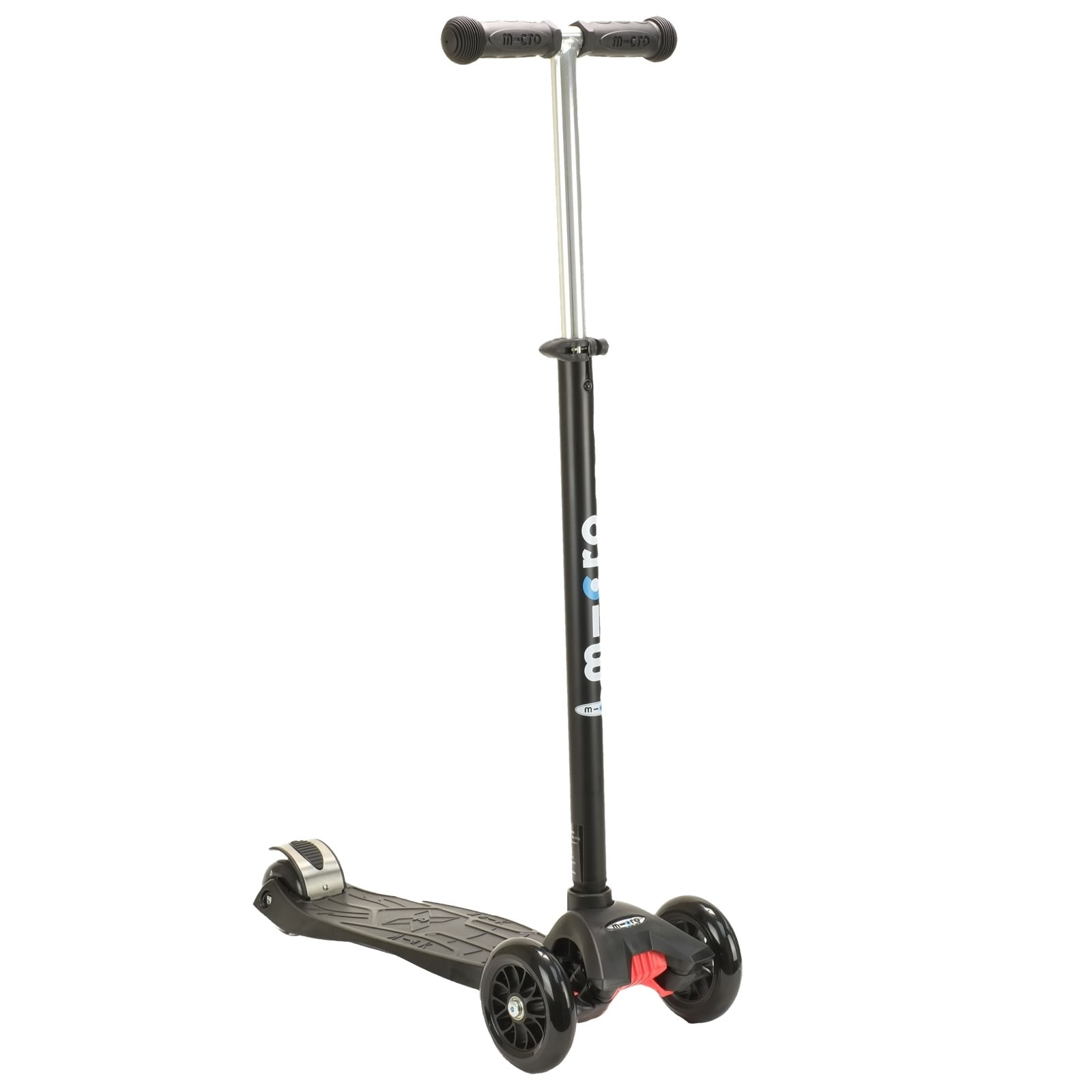 maxi micro t bar scooter black complete scooters. Black Bedroom Furniture Sets. Home Design Ideas