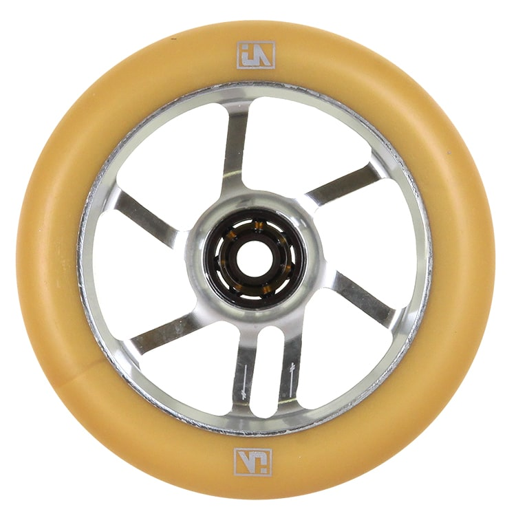 UrbanArtt S7 110mm Wheel - Chrome/Gum