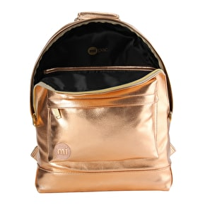 Mi-Pac Metallic Backpack - Rose Gold