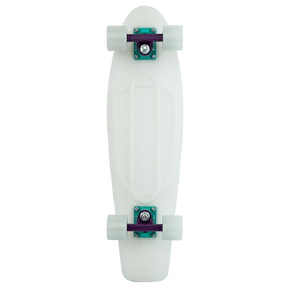 Penny Nickel Galactic Purple Glow Complete Skateboard - 27