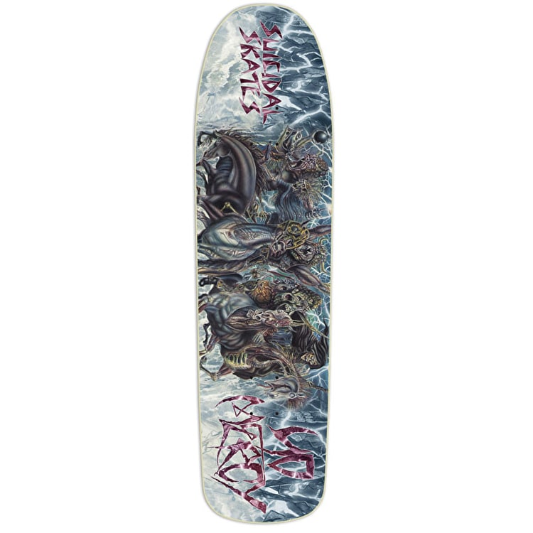 Dogtown x Suicidal Skates No Mercy Skateboard Deck - 8.75""