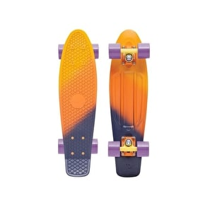 Penny Fades Complete Skateboard - Yellow/Orange/Purple 22