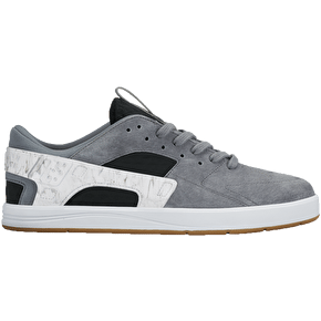 Nike SB Eric Koston Huarache Shoes - Cool Grey/Black/White