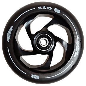 AO Delta 5 Hole 110mm Wheel incl Bearings - Black