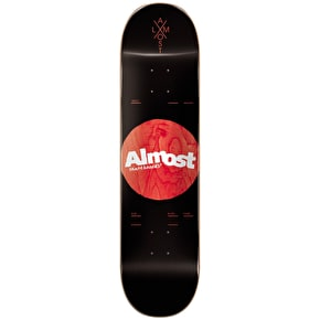 Almost Skateboard Deck - Noble Dot R7 Black 8.25